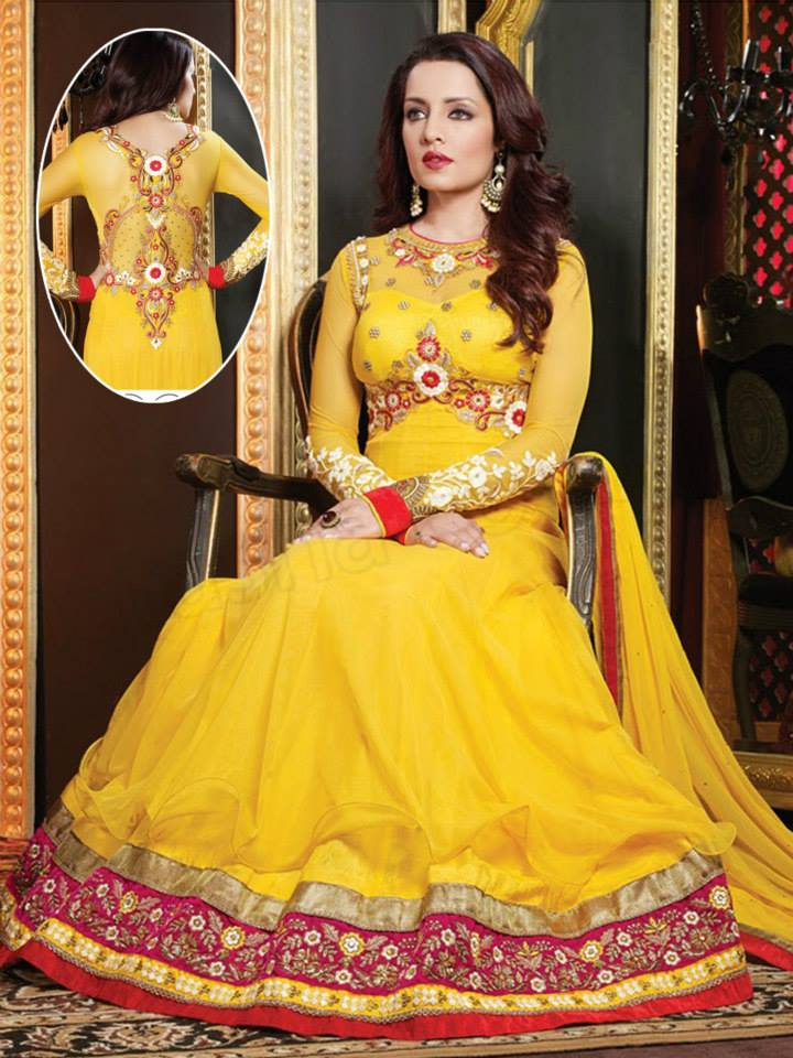 Latest Anarkali Suits & Dresses Designs 2016-2017 Collection (17)