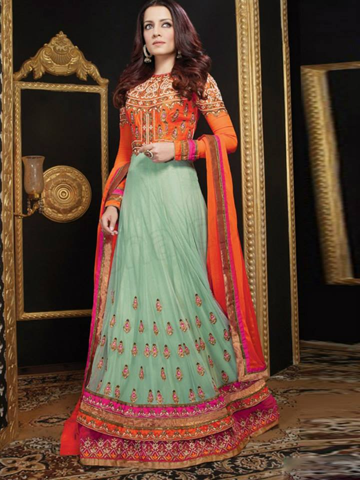 Latest Anarkali Suits & Dresses Designs 2016-2017 Collection (21)