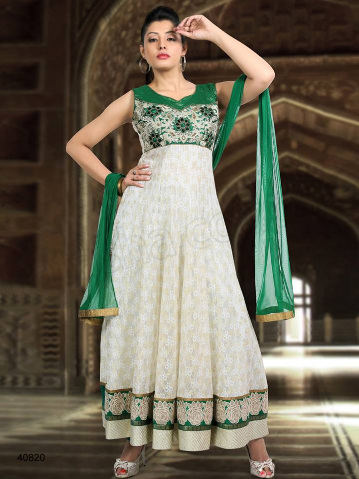 Latest Anarkali Suits & Dresses Designs 2016-2017 Collection (28)