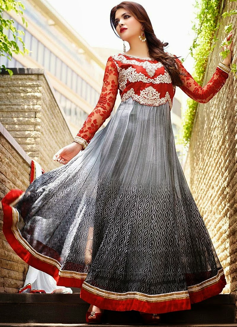Latest Anarkali Suits & Dresses Designs 2016-2017 Collection (29)