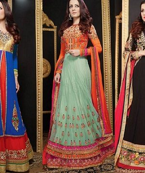 Latest Anarkali Suits & Dresses Designs 2016-2017 Collection