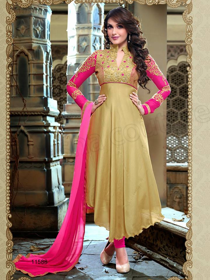 Latest Anarkali Suits & Dresses Designs 2016-2017 Collection (36)