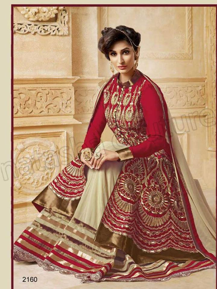 Latest Anarkali Suits & Dresses Designs 2016-2017 Collection (39)