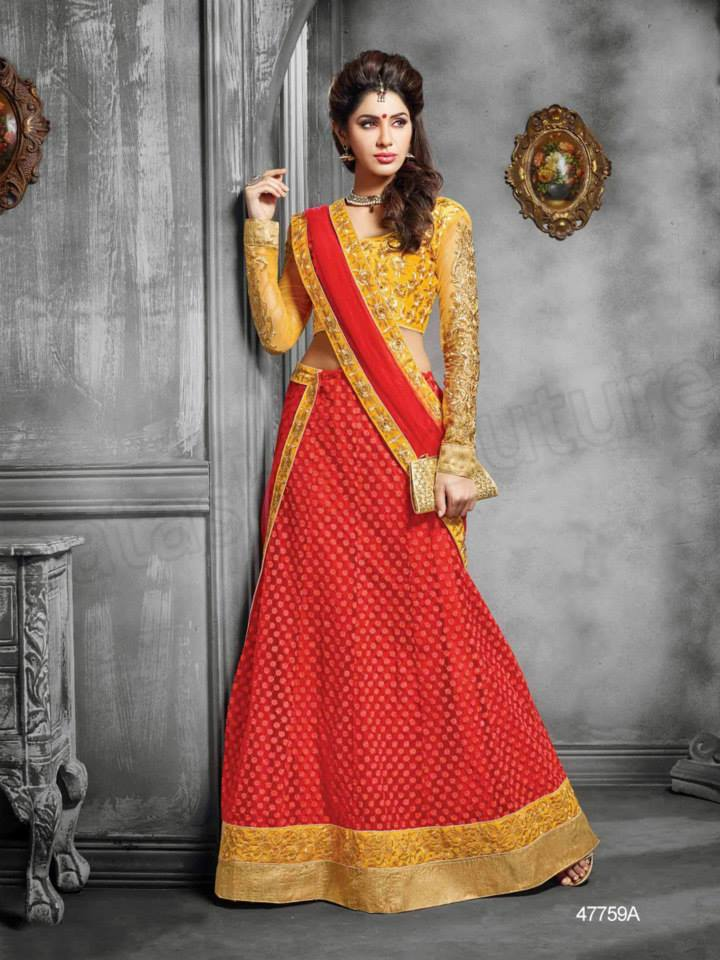 Latest Anarkali Suits & Dresses Designs 2016-2017 Collection (42)