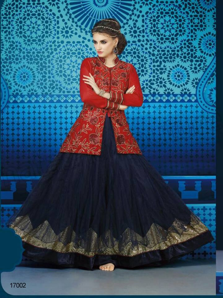 Latest Anarkali Suits & Dresses Designs 2016-2017 Collection (43)