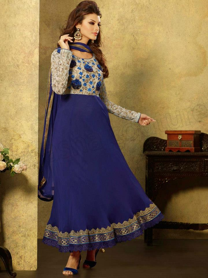 Latest Anarkali Suits & Dresses Designs 2016-2017 Collection (44)