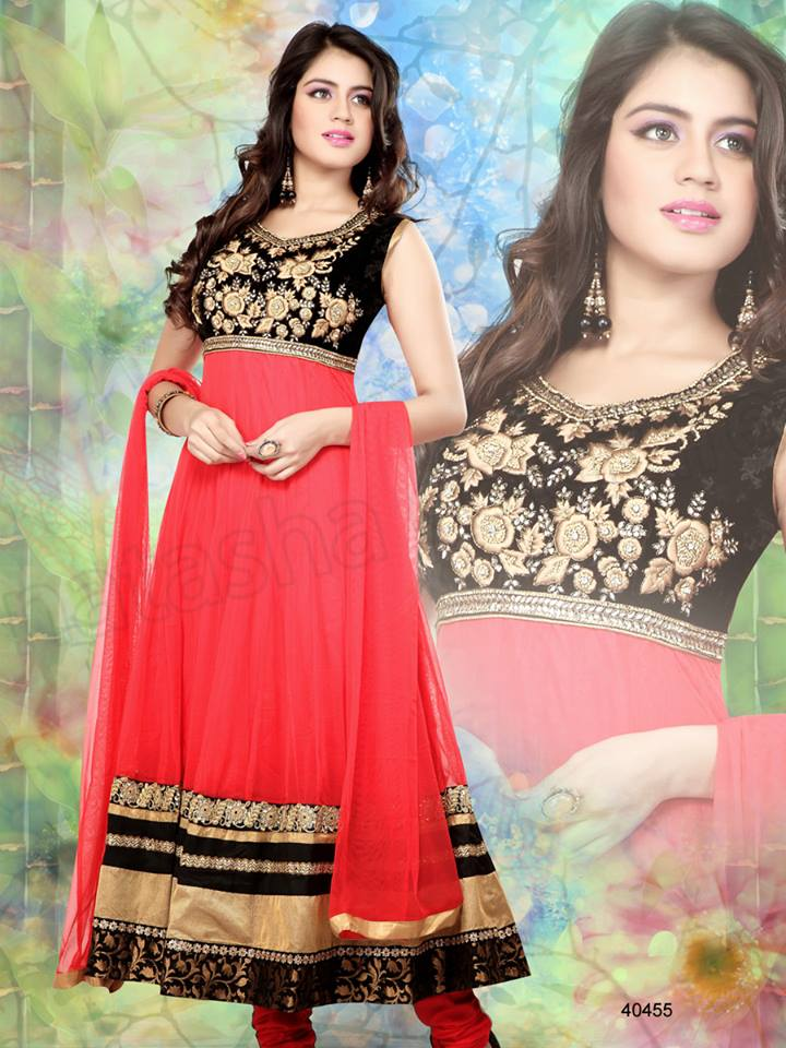 Latest Anarkali Suits & Dresses Designs 2016-2017 Collection (47)