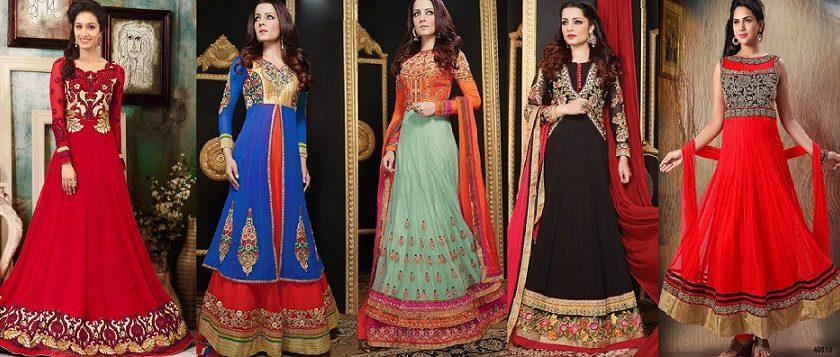 Latest Anarkali Suits & Dresses Designs 2016-2017 Collection