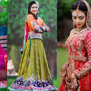 Indian Pakistani Ghagra/ Lehenga Choli Designs Collection 2019-2020