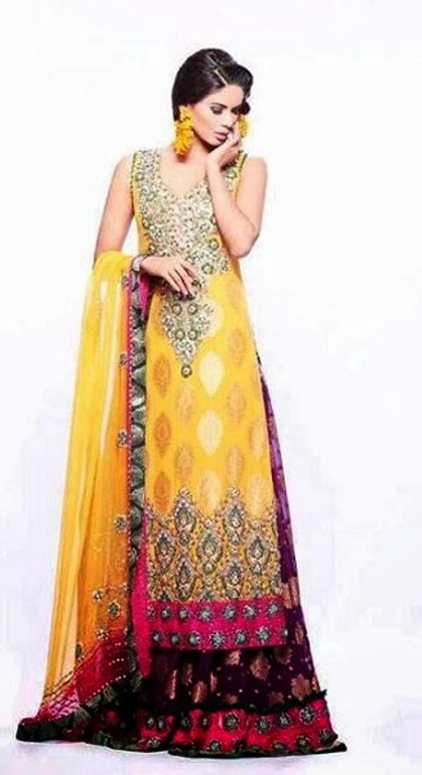 Mehndi images for dulhan dresses