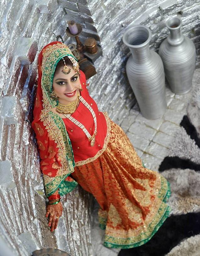 Latest Pakistani Ghagra Choli Dresses Collection 2016-2017 (12)