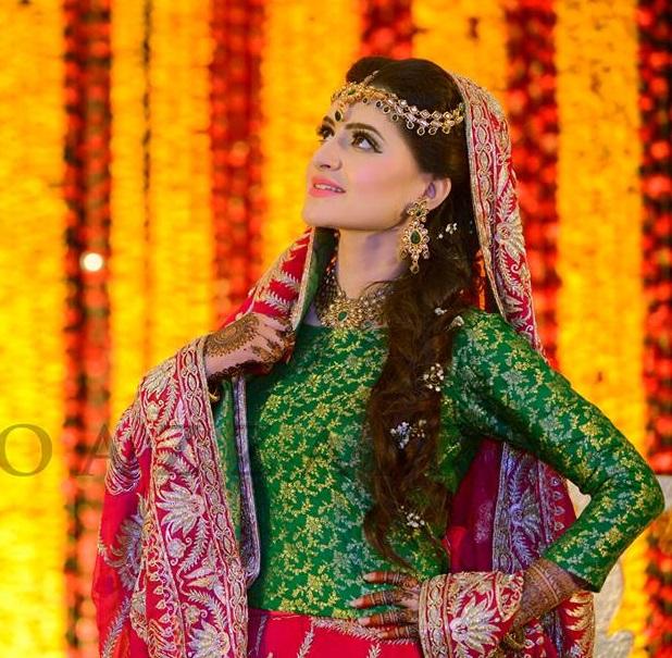 Latest Pakistani Ghagra Choli Dresses Collection 2016-2017 (13)