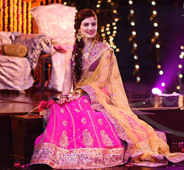 Latest Pakistani Ghagra Choli Dresses Collection 2016-2017 (2)
