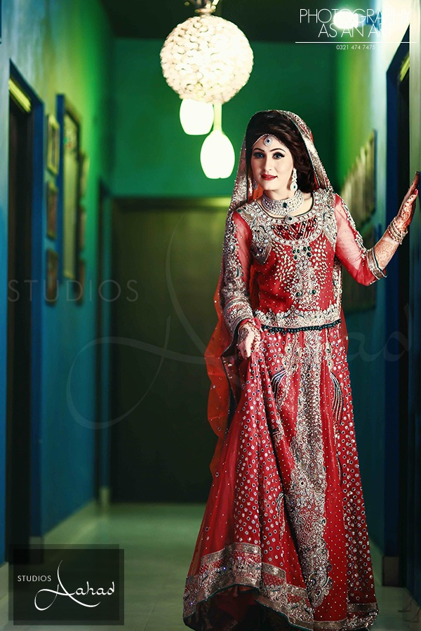 Latest Pakistani Ghagra Choli Dresses Collection 2016-2017 (3)