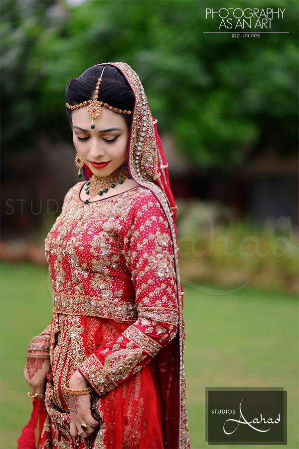 Latest Pakistani Ghagra Choli Dresses Collection 2016-2017 (4)