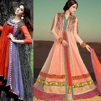 Front Open Double Shirt Dresses Frocks Designs 2021 Collection