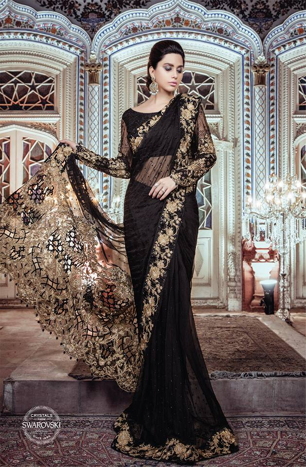 Maria B Luxury Formal Dresses Embroidered Collection 2017 2018