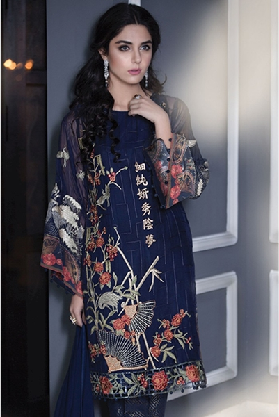 Maria B Latest Luxury Dresses Embroidered Collection 2016