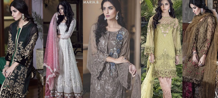 Maria B Luxury Formal Dresses Mbroidered Collection 2016-2017
