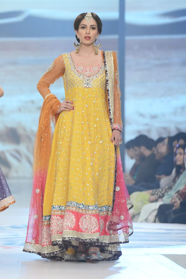 Latest bridal mehndi dresses designs 2016 2017 collection stylesgap