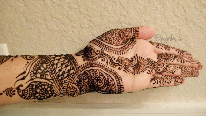 Turkish Mehndi Designs & Style Trends Collection 2016-2017 (17)