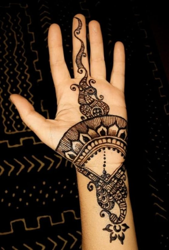 Turkish mehndi designs amp style trends collection 2016 2017 20