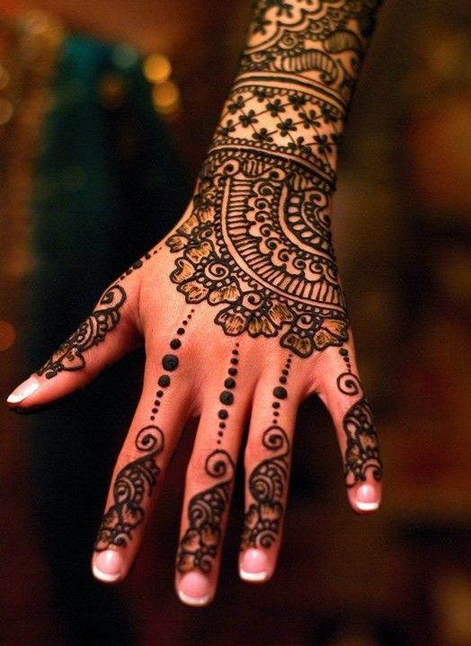 Turkish Mehndi Designs & Style Trends Collection 2016-2017 (5)