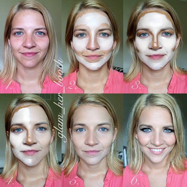 face contouring tutorial step by step