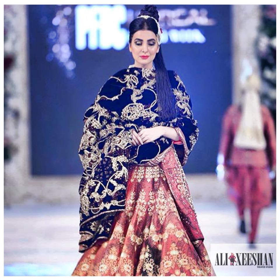 Ali Xeeshan Latest Bridal Wedding Dresses Collection 2016-2017 (11)