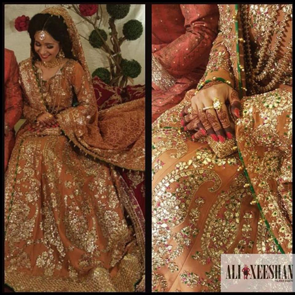 Ali Xeeshan Latest Bridal Wedding Dresses Collection 2016-2017 (15)