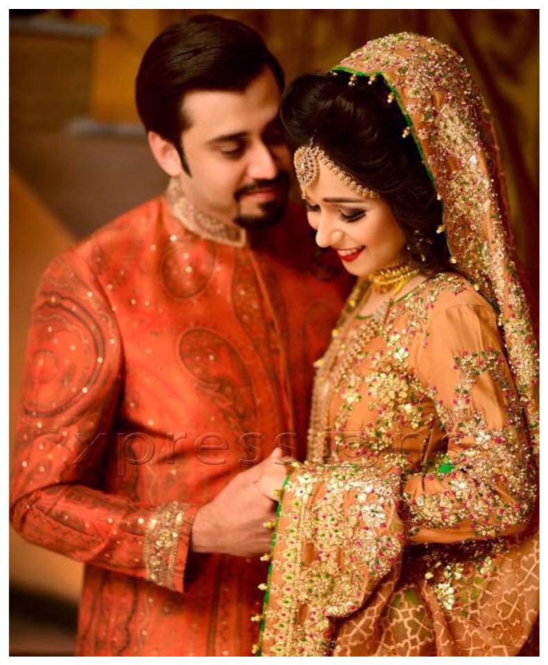 Ali Xeeshan Latest Bridal Wedding Dresses Collection 2016-2017 (17)