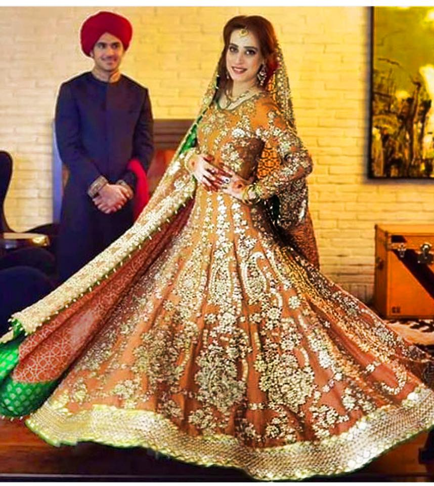 Ali Xeeshan Latest Bridal Wedding Dresses Collection 2016-2017 (2)