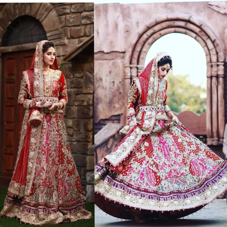 Ali Xeeshan Latest Bridal Wedding Dresses Collection 2016-2017 (24)