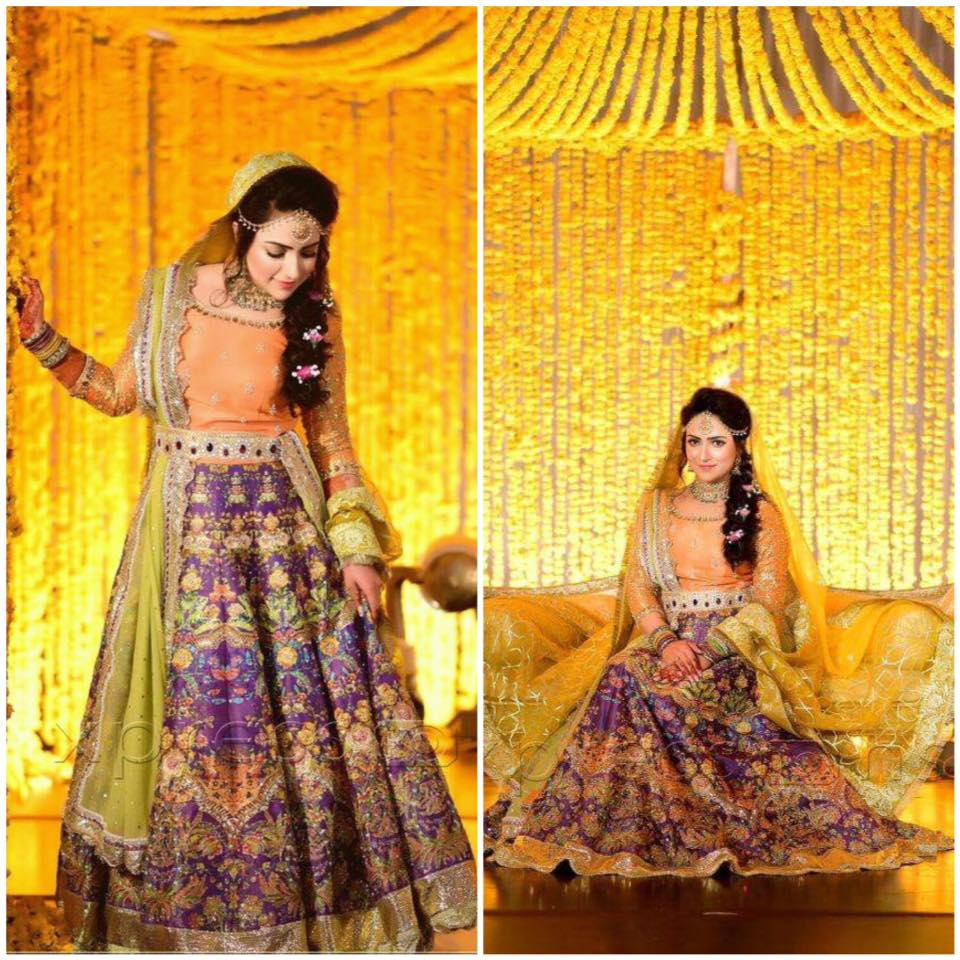 Ali Xeeshan Latest Bridal Wedding Dresses Collection 2016-2017 (27)