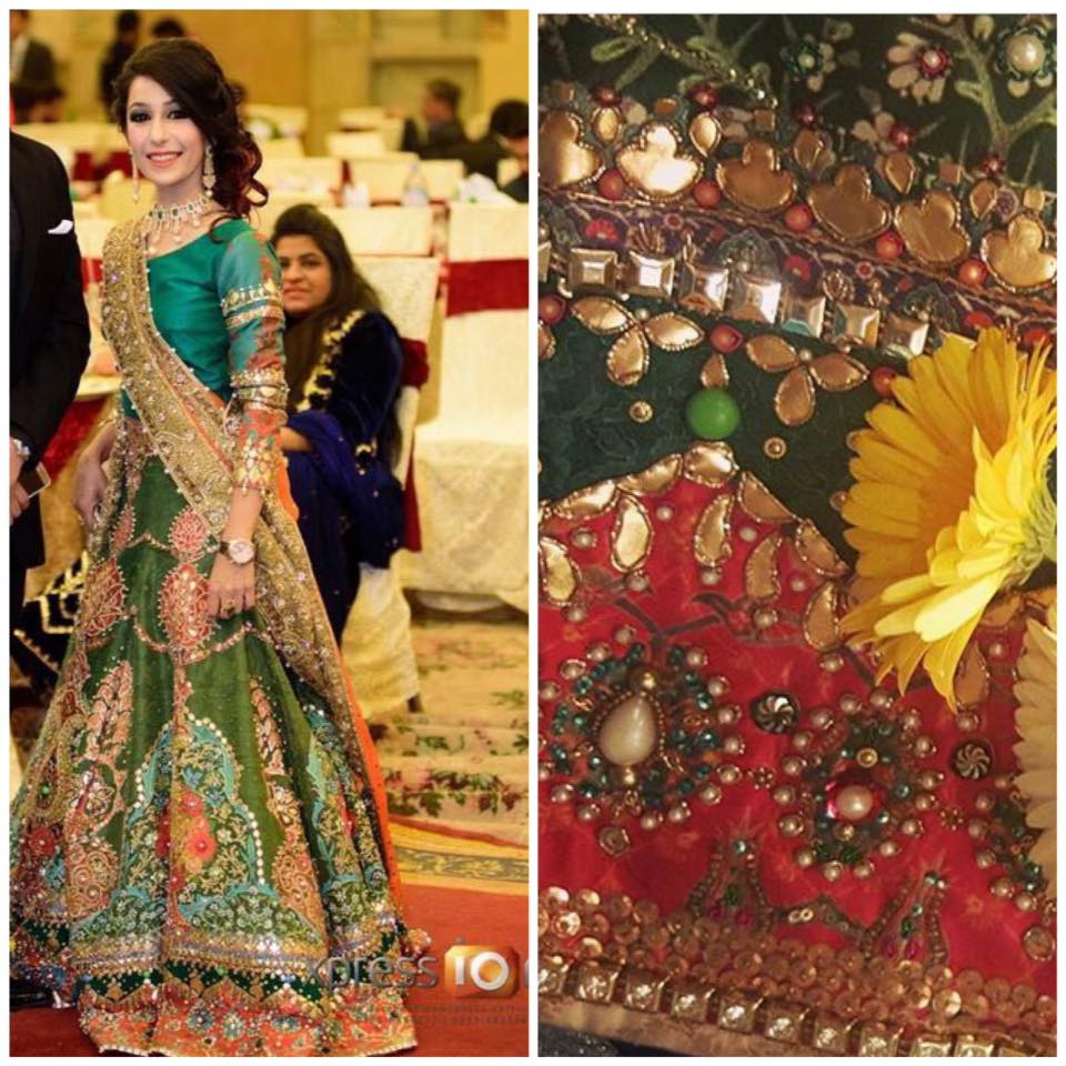 Ali Xeeshan Latest Bridal Wedding Dresses Collection 2016-2017 (28)