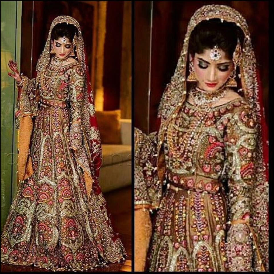 Ali xeeshan latest bridal wedding dresses collection 2016 2017 29