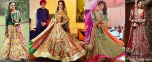 Ali Xeeshan Latest Bridal Dresses Collection 2016-2017