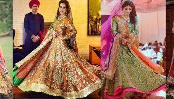 Ali Xeeshan Latest Bridal Wedding Dresses Collection 2016-2017