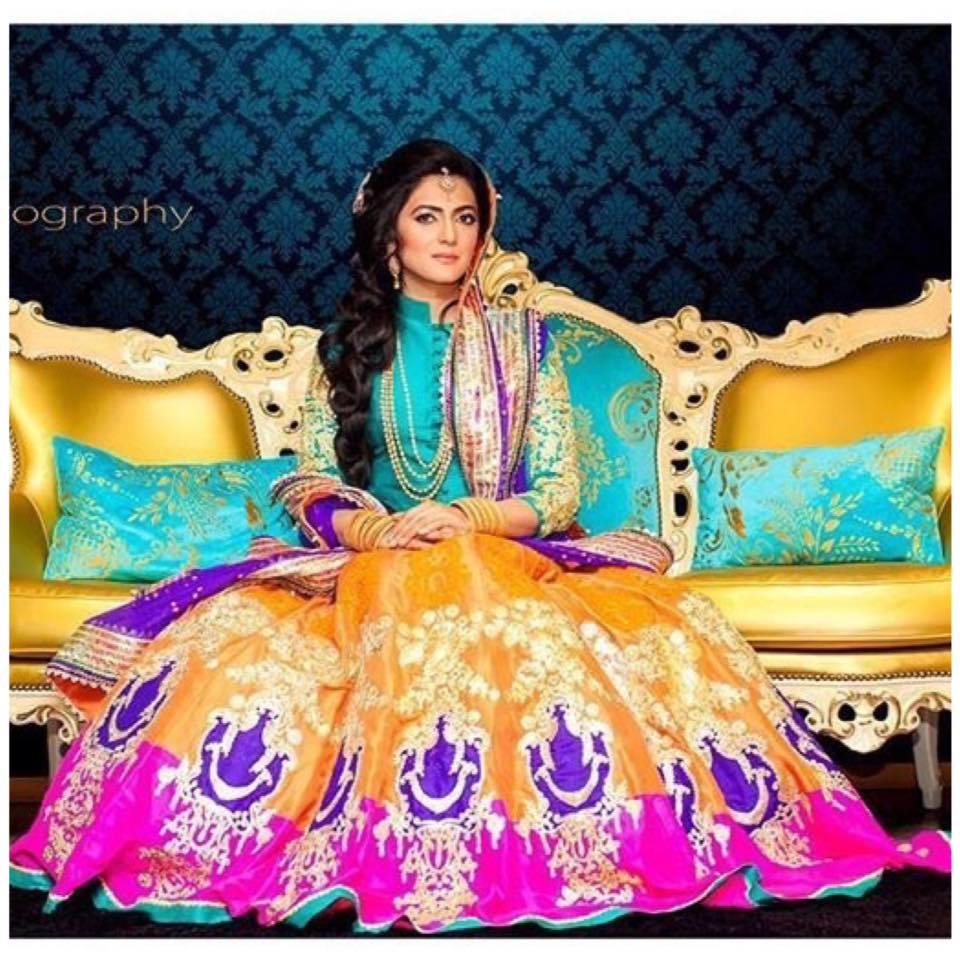 Ali Xeeshan Latest Bridal Wedding Dresses Collection 2016-2017 (6)