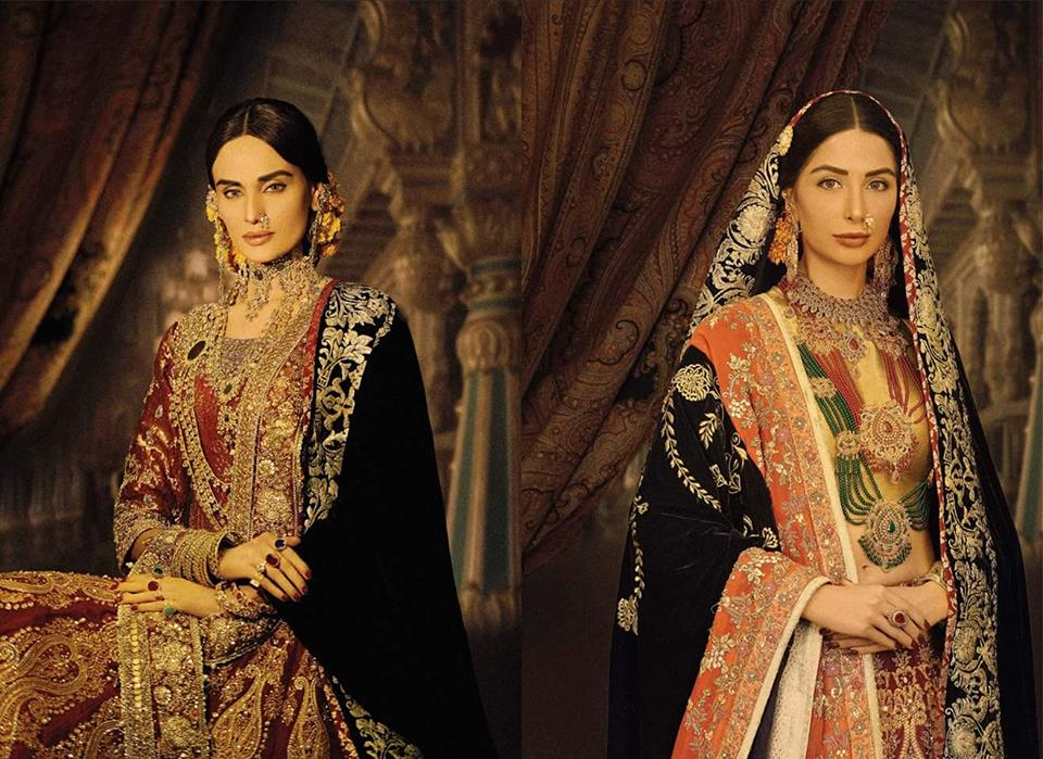Ali Xeeshan Latest Bridal Wedding Dresses Collection 2016-2017 (9)