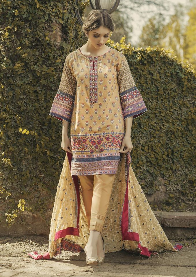 d89a986cff Alkaram Summer Lawn Designs Latest Suits 2018 Summer Collection ...