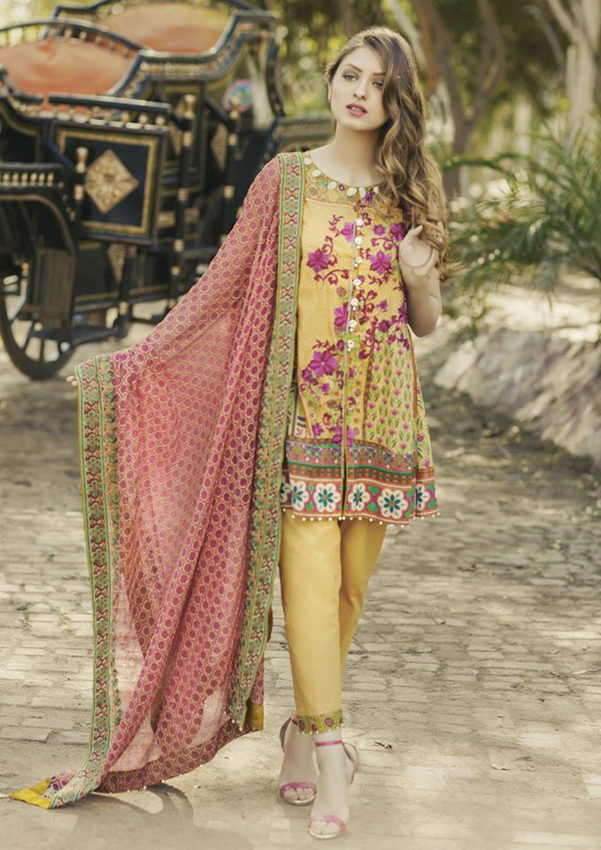 Alkaram 3 piece exclusive Summer Lawn Designs- (5)