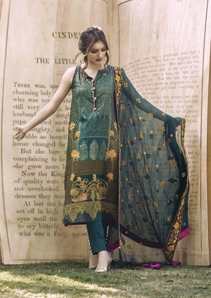 Clothing, Shoes & Accessories Ladies Pakistani Suit Al Karam Shalwar Kameez Dupata