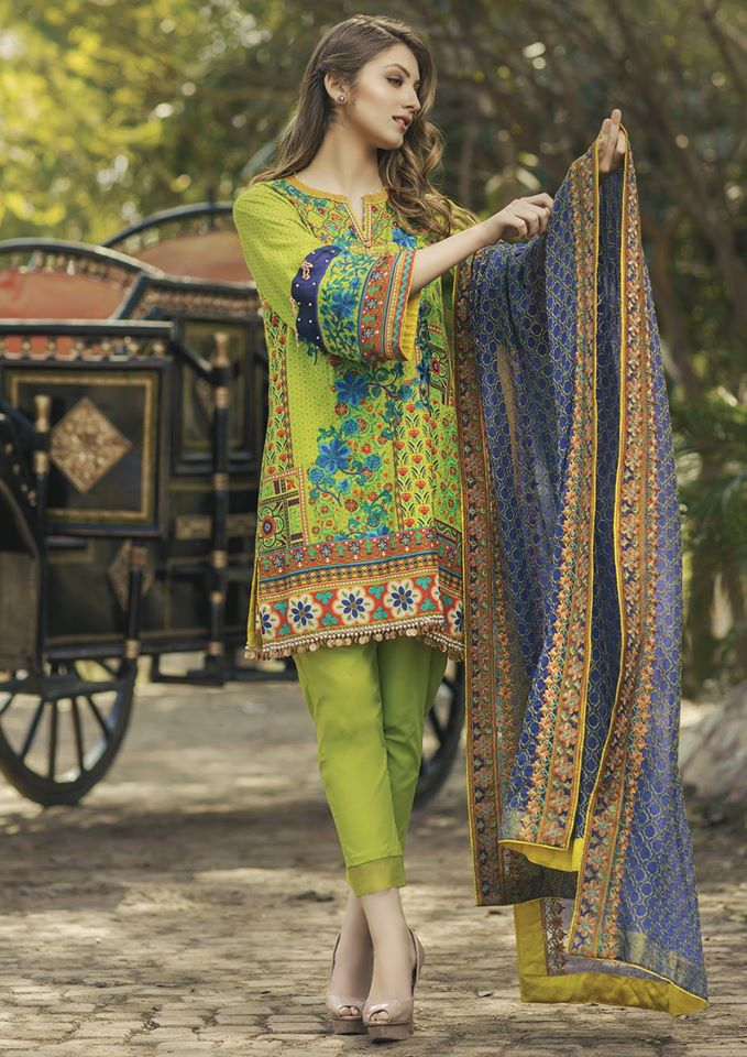 Alkaram Summer Lawn Designs Latest Suits Collection 2017 2018