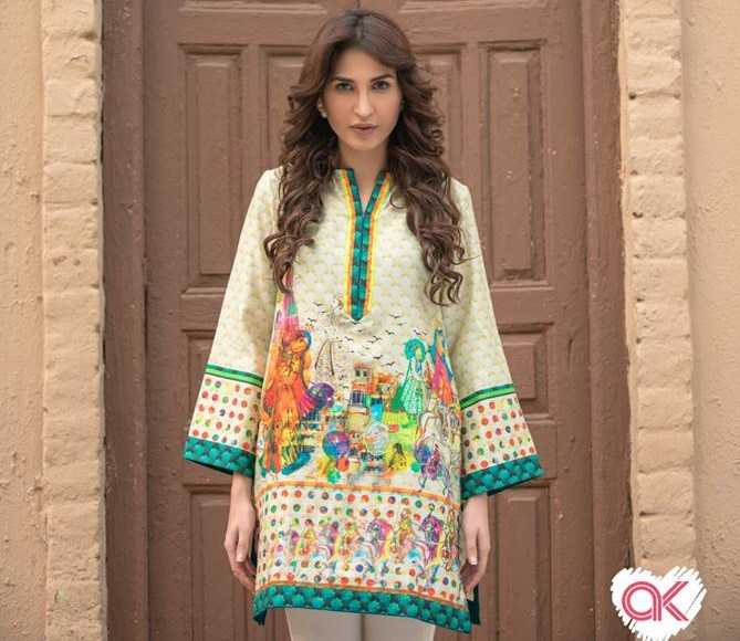 Alkaram Latest Women Summer Pret Dresses Collection 2016-2017 (1)