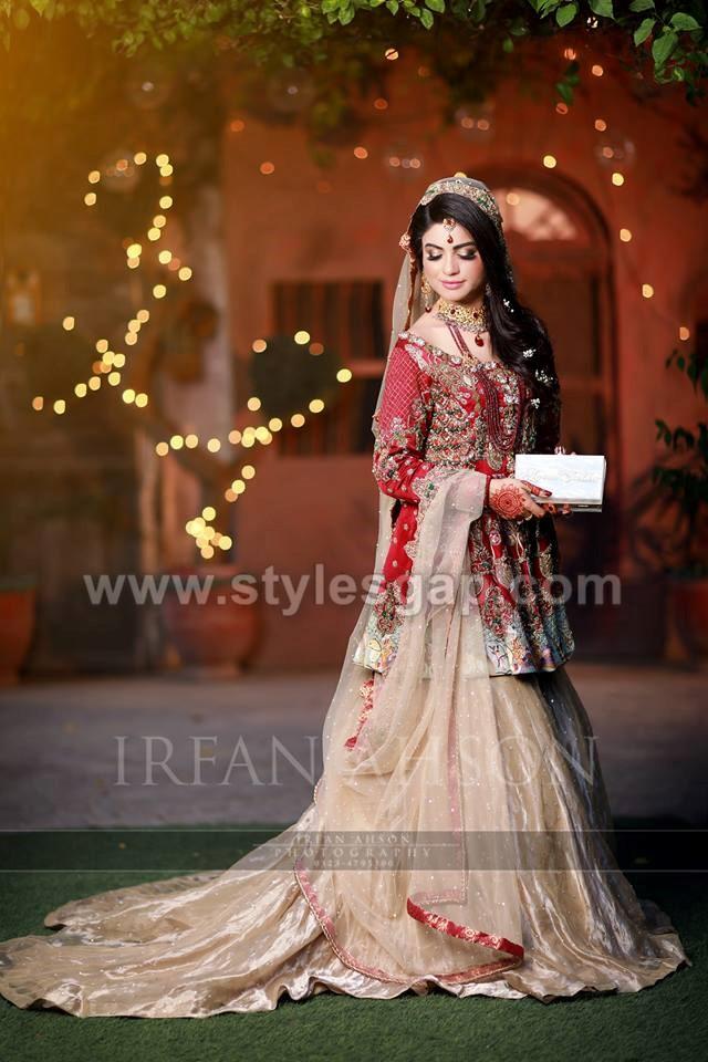 Best Bridal Barat Dresses Designs Collection 2018-19 for Wedding Brides