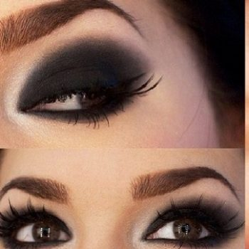 Bold & Beautiful Black Smokey Eyes Makeup Tutorial Step by Step