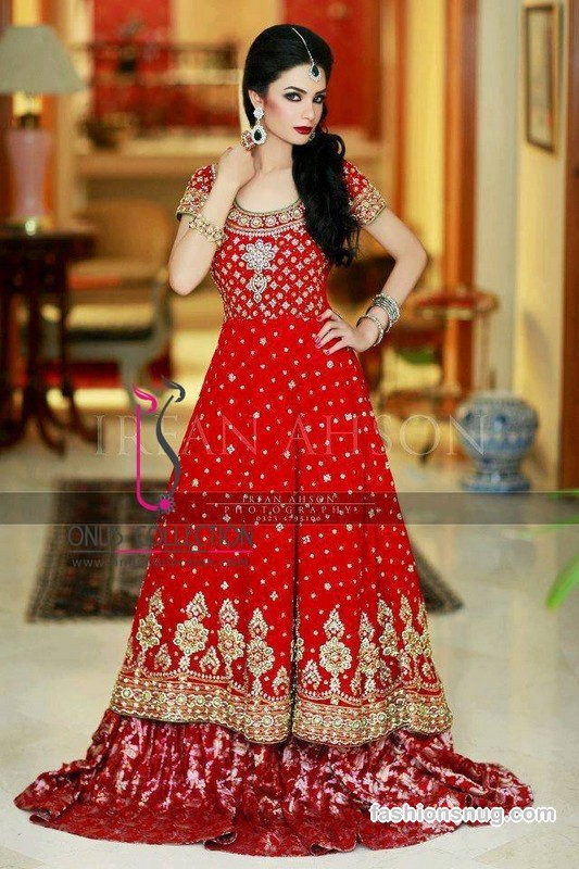 Bridal Barat Wedding Dresses Trends 2016-2017 Collection (3)