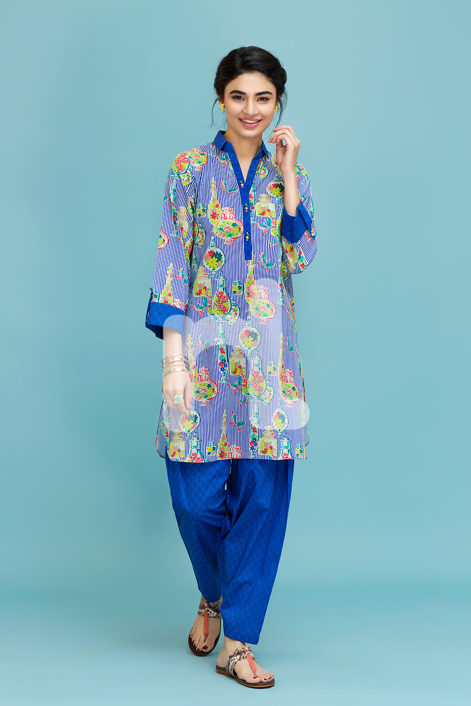 Cambric- Nishat Linen Spring Summer 2017 Best Lawn Dresses (2)