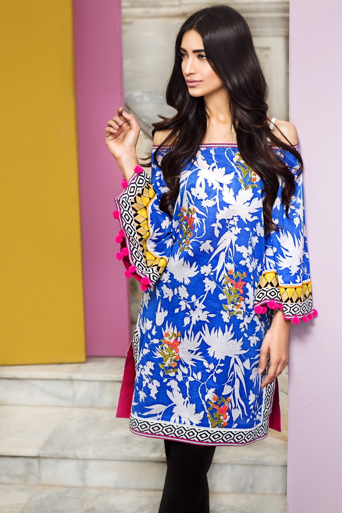 New summer dresses 2018 in pakistan